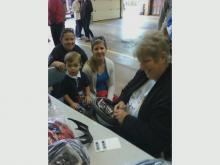Judy Libera with children